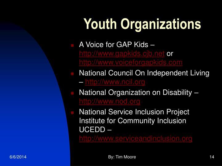 Youth Organizations