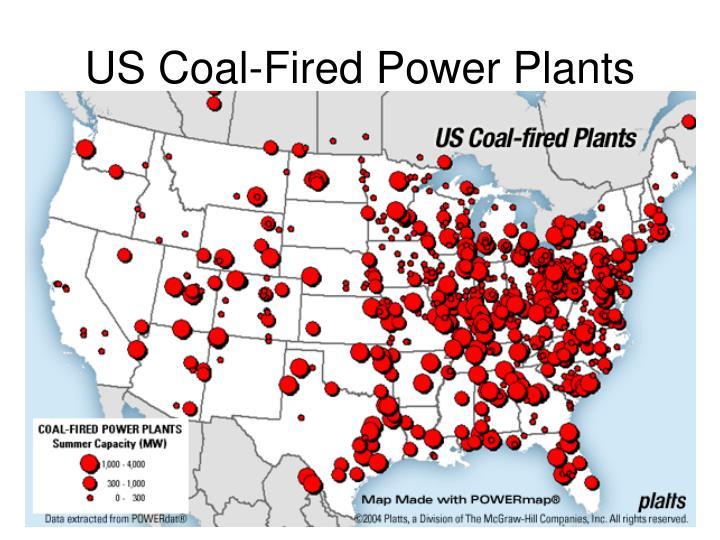 US Coal-Fired Power Plants