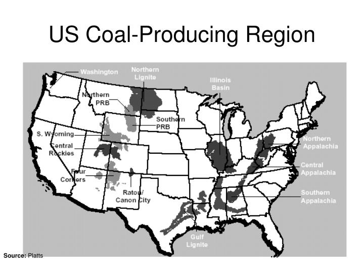 US Coal-Producing Region