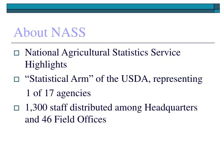 About NASS