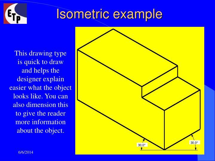 Isometric example