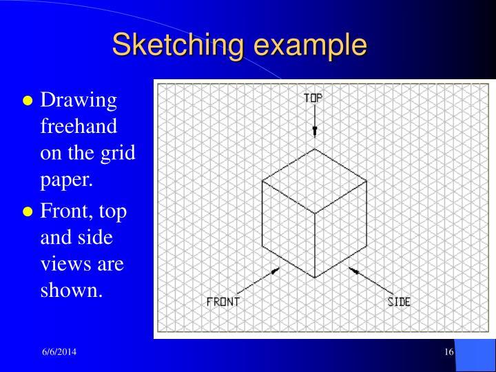 Sketching example