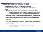 local consumer study lcs2