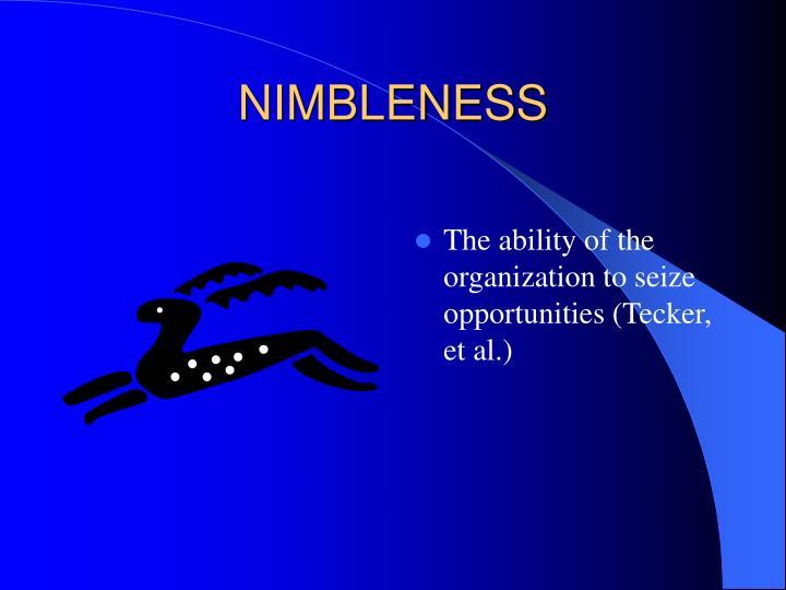 NIMBLENESS