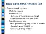 high throughput abrasion test5