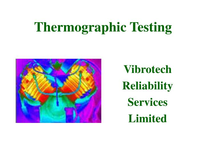 thermographic testing