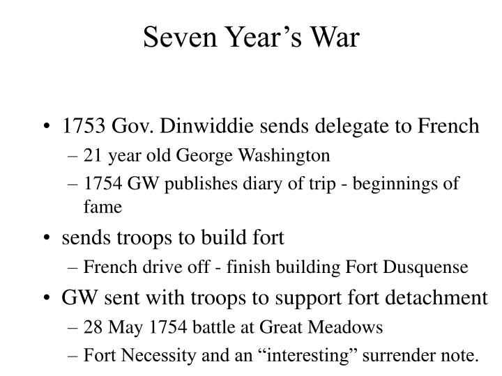 Seven Year's War