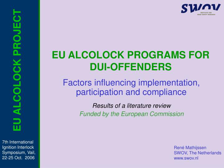 eu alcolock programs for dui offenders