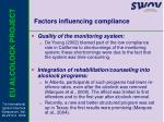 factors influencing compliance