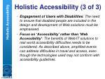 holistic accessibility 3 of 3