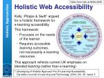 holistic web accessibility