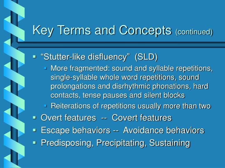 Key Terms and Concepts