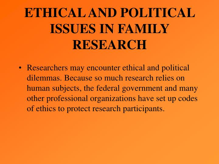 research paper on ethical issues Education in research ethics is can help people get a better understanding of ethical standards, policies, and issues and improve ethical judgment and decision making many of the deviations that occur in research may occur because researchers simply do not know or have never thought seriously about some of the ethical norms of research.