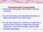 commercial consumer