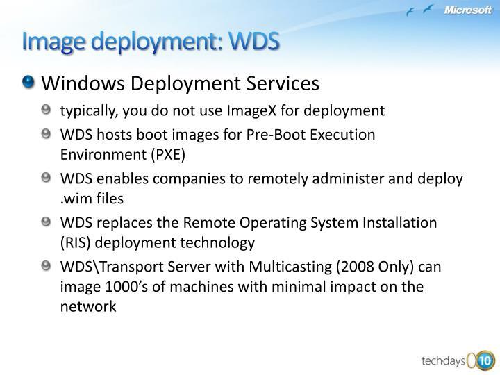 WindowsDeployment Services