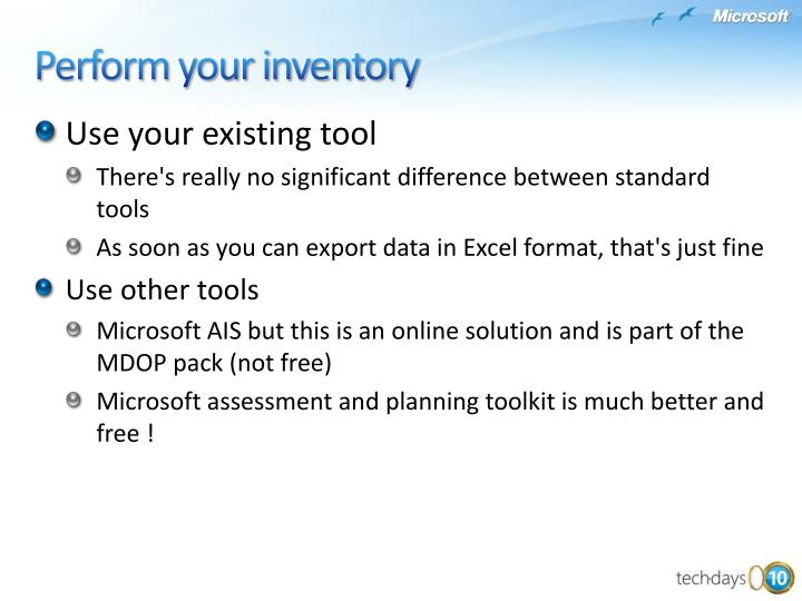 Use your existing tool