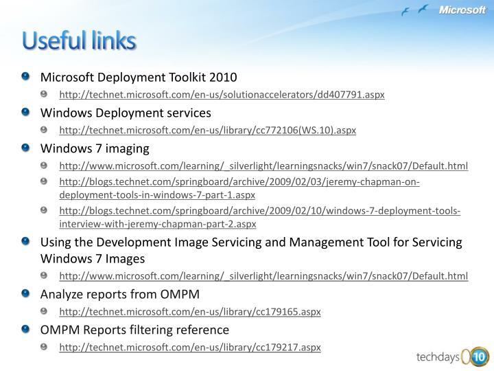 Microsoft Deployment Toolkit 2010