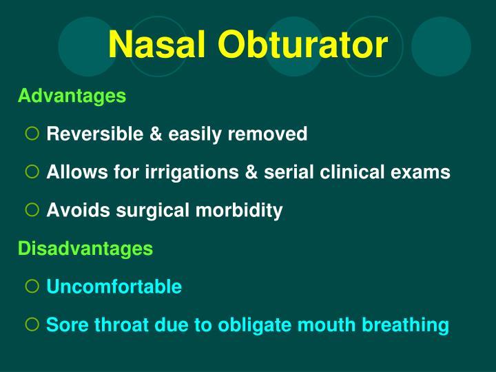 Nasal Obturator