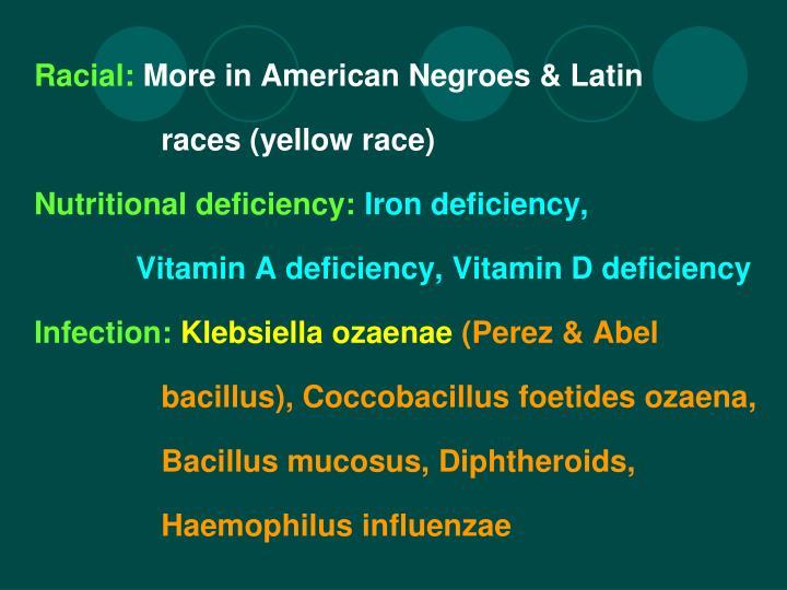 Racial: