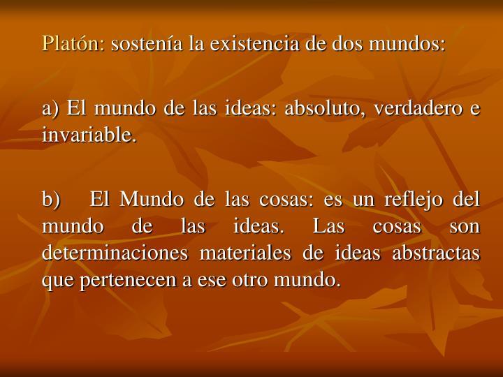 Platón: