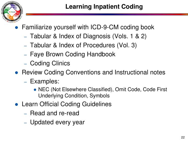 Learning Inpatient Coding