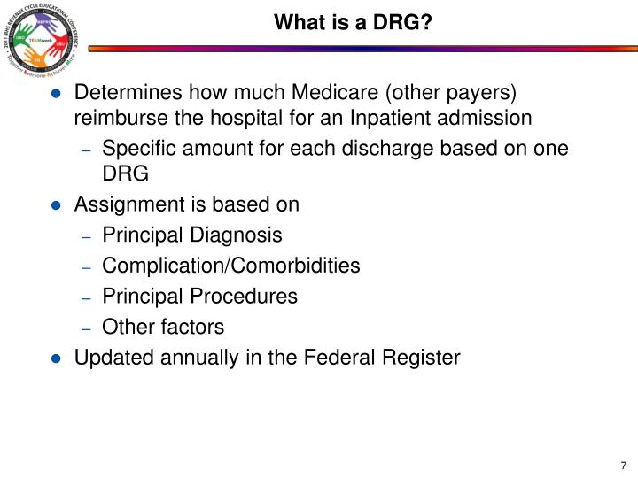 What is a DRG?
