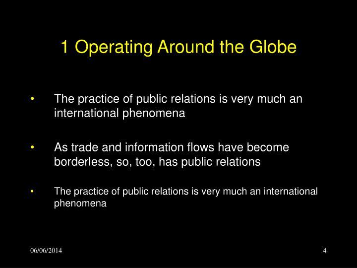 1 Operating Around the Globe