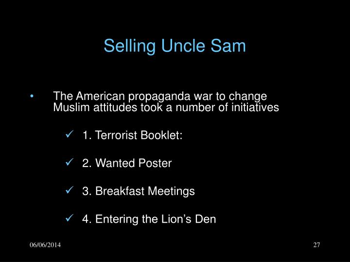 Selling Uncle Sam