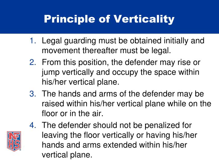 Principle of Verticality