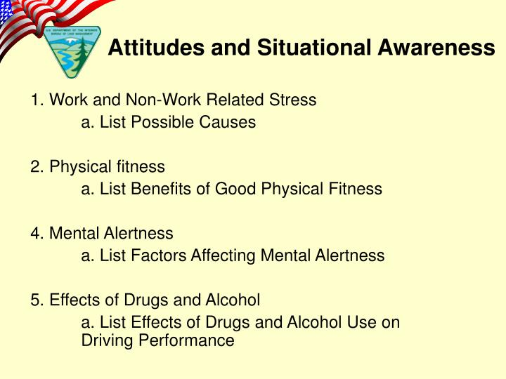 1. Work and Non-Work Related Stress