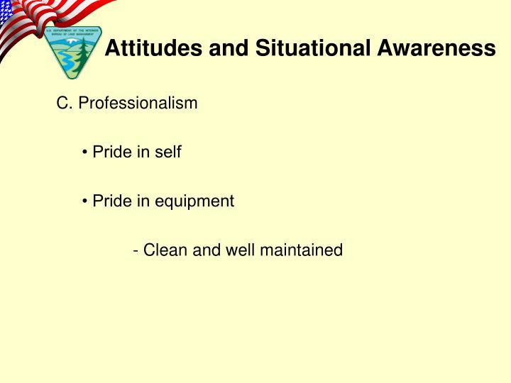 C. Professionalism