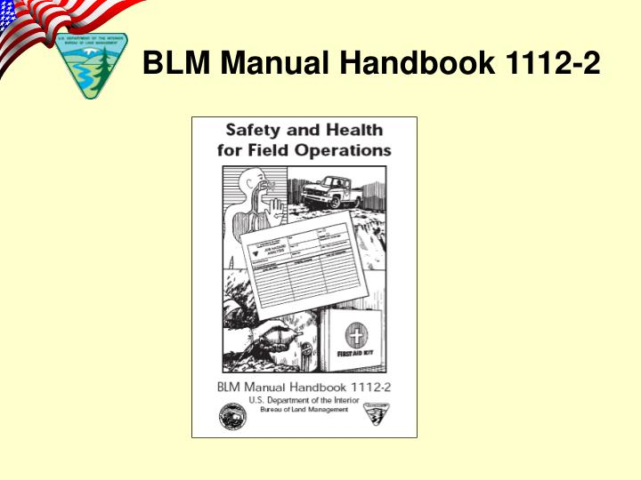 BLM Manual Handbook 1112-2