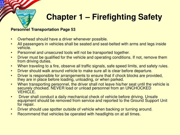 Personnel Transportation Page 53