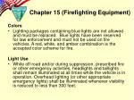 chapter 15 firefighting equipment4