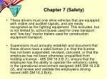 chapter 7 safety5