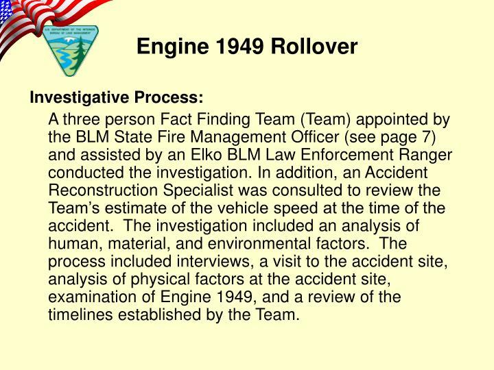 Investigative Process: