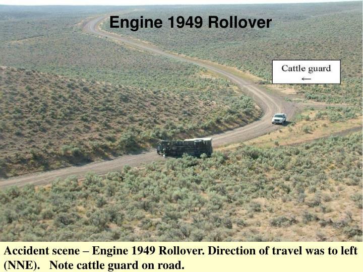 Engine 1949 Rollover
