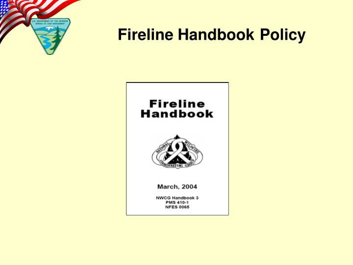 Fireline Handbook