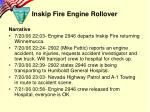 inskip fire engine rollover1