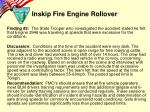 inskip fire engine rollover7