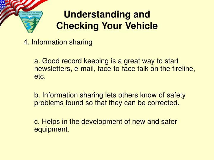 4. Information sharing