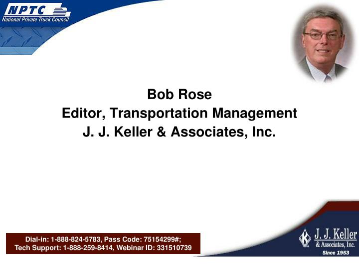 Bob Rose