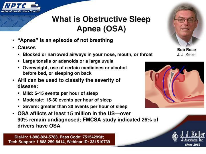 What is Obstructive Sleep Apnea (OSA)