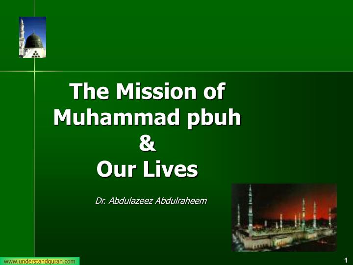 The Mission of