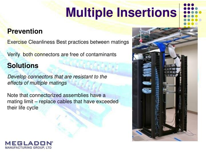 Multiple Insertions