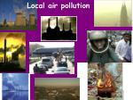 local air pollution