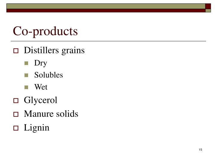 Co-products