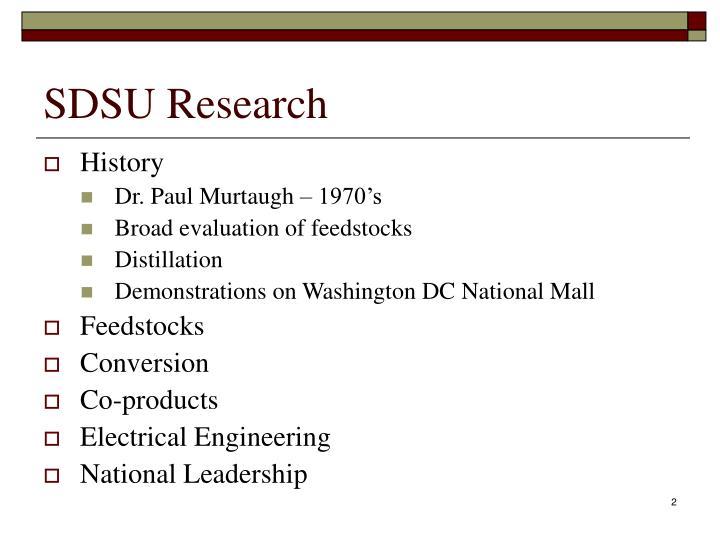 SDSU Research