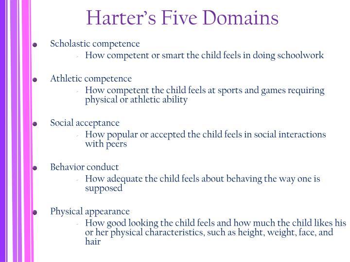 Harter's Five Domains