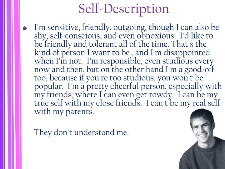 Self-Description